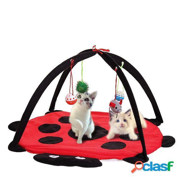 Giocattolo del gatto di animale domestico Gioco di tenda di