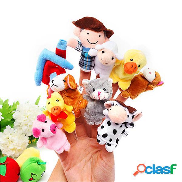Giocattolo della mano educativo del bambino della bambola