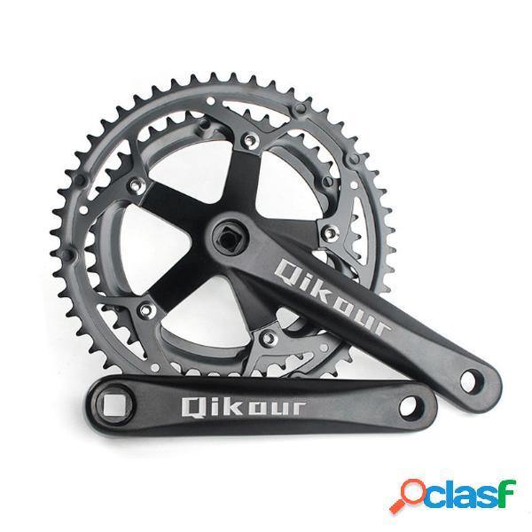 Guarnitura per mountain bike 52 / 42T in alluminio per BMX /