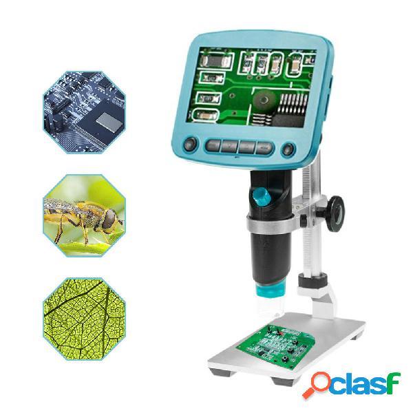 HD 5.0MP 800X Microscopio digitale portatile USB LCD 4.3