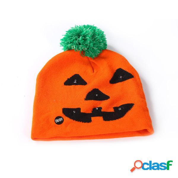 Halloween LED Cappello Berretto lavorato a maglia Cap Light