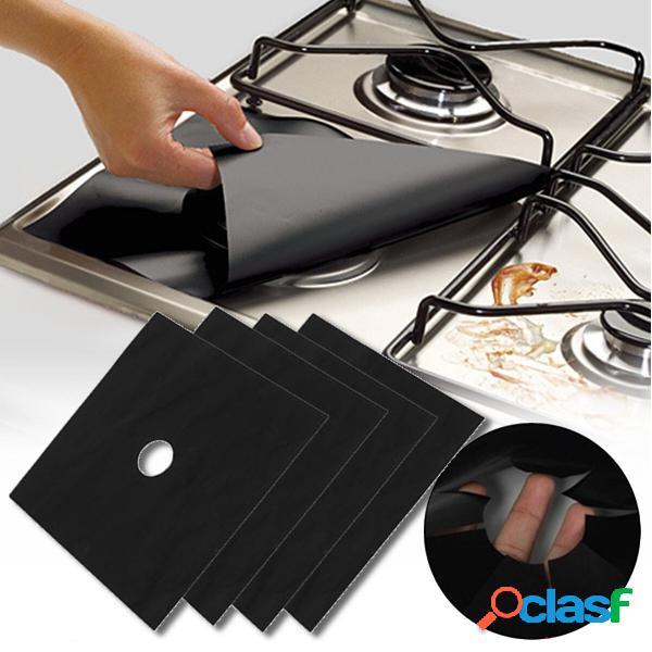 Honana 4PCS cucina riutilizzabile foglio di alluminio stufa
