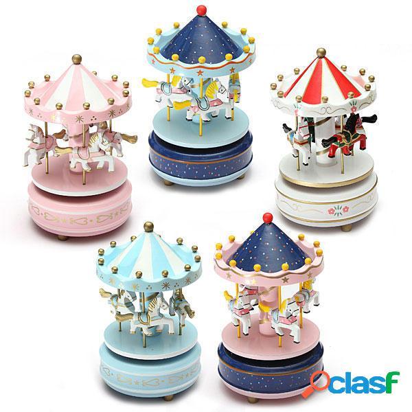 I bambini Carousel Music Box Merry Go Round devolopment