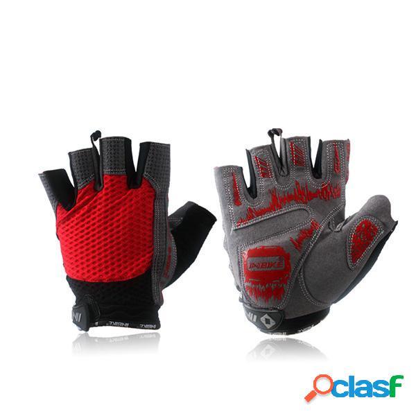 INBIKE guanti di riciclaggio dei guanti mezzi della barretta