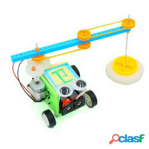Il giocattolo di spazzata del robot del pavimento di DIY che