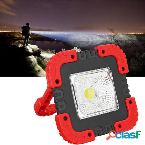 Inondazione di emergenza ricaricabile luce di lavoro USB LED