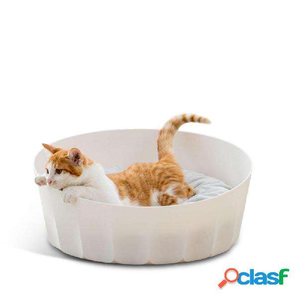 Jordan & Judy bianca Round Pet Cat Nest Letto per dormire