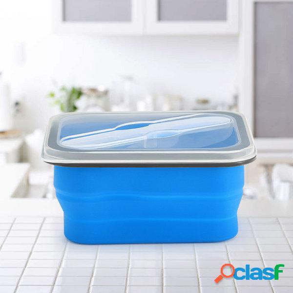 KCASA KC-FY02 pieghevole Silicone Lunch Box BPA pieghevole