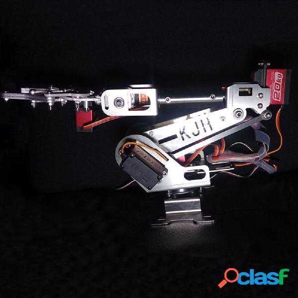 KJH 6DOF Kit robot educativo per pinza braccio robot RC fai