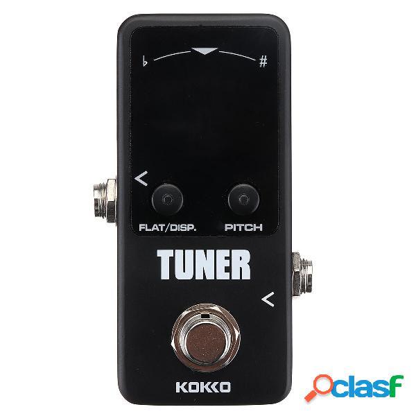 KOKKO TUNER Pedale effetti per chitarra True Bypass con