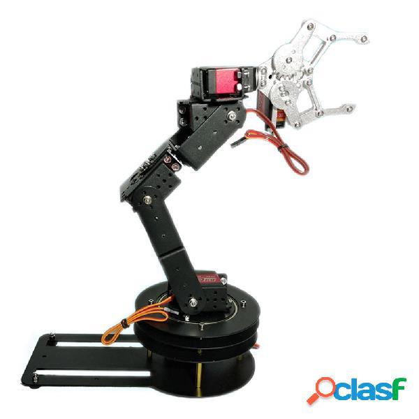 Kit educativo per braccio robot Matel RC fai da te 6DOF per