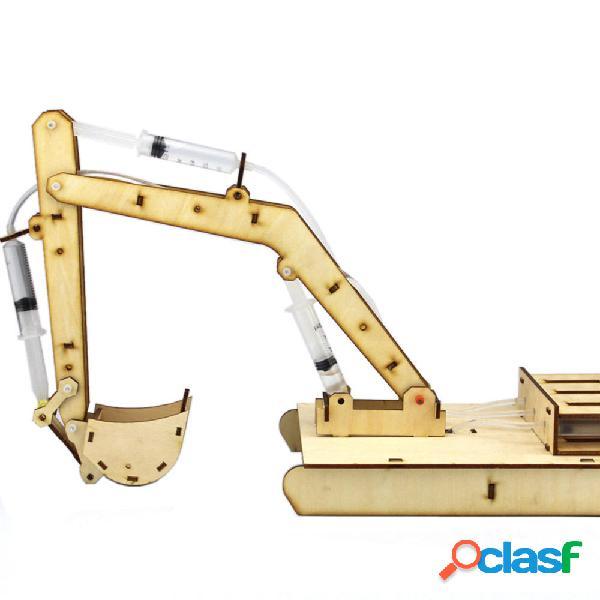 Kit educativo per robot giocattolo in legno per robot