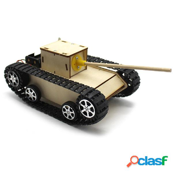 Kit educativo robot giocattolo STEAM Tank Tank STEAM