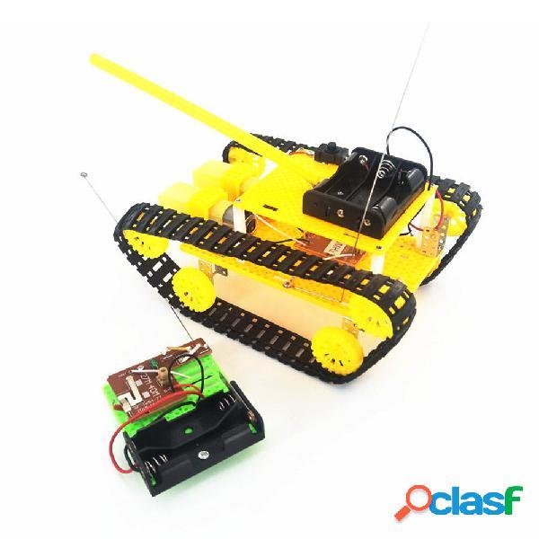Kit giocattolo robot assemblato STEAM Tank Tank
