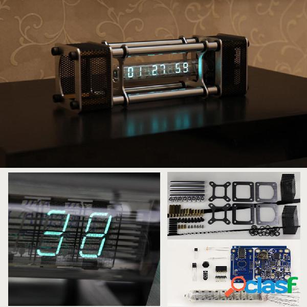 Kit orologio tubo fluorescente non assemblato IV-18 DIY 6