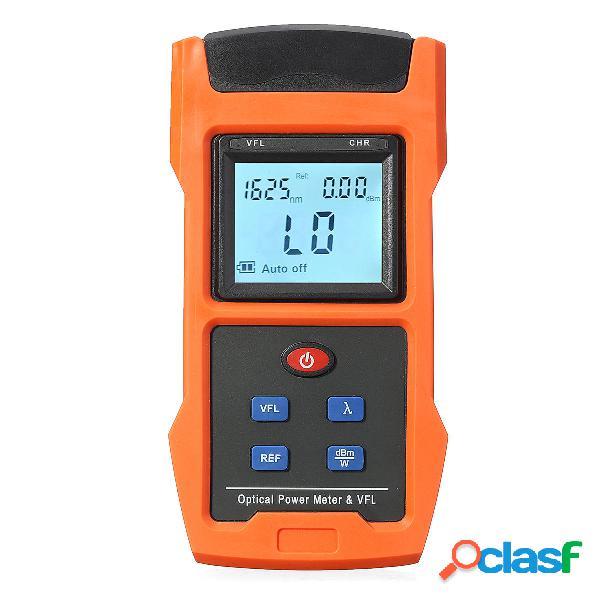 LCD Misuratore di potenza ottica USB 10mW e adattatore per