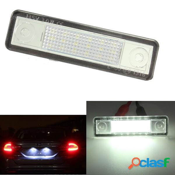 LED Bianco patente auto luce targa per Vauxhall Opel Astra F