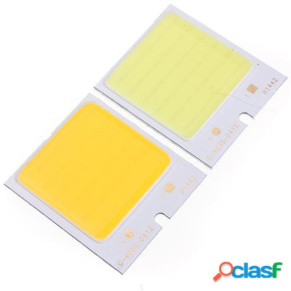 LUSTREON 4W 48led COB LED Chip 480mA Bianco/Bianco Caldo per