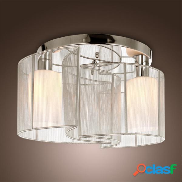 Lampadario cromato lampada Lampada da soffitto a soffitto a