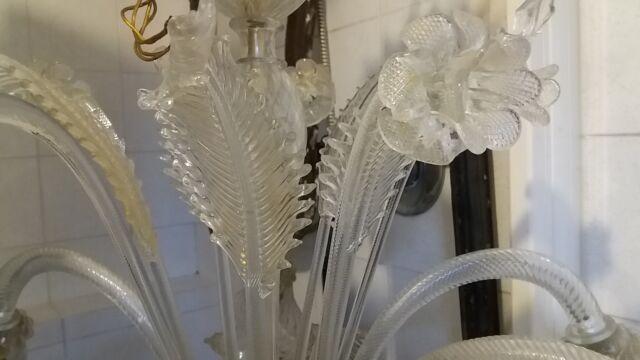 Lampadario d'epoca di Murano