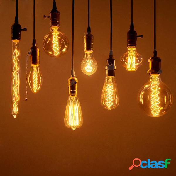 Lampadine Edison Vintage E27 40W/60W AC 220V Lampada a
