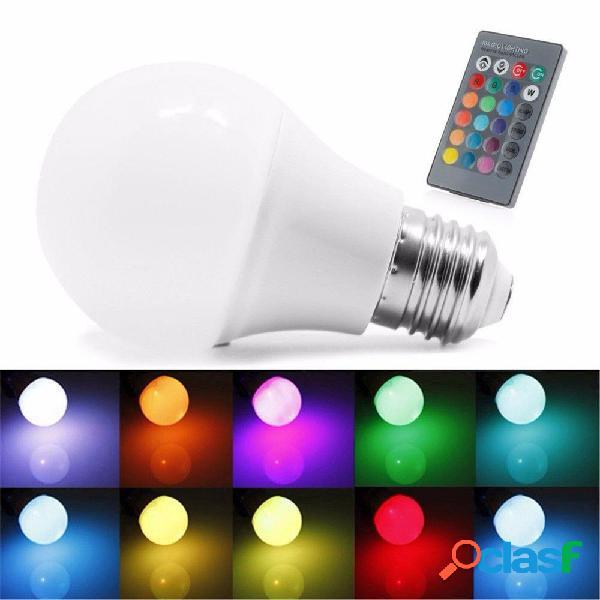 Lampadine a globo E27 5W RGB 16 colori LED RGB luce a led