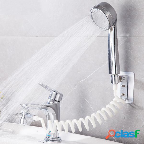 Lavabo da bagno Lavabo da parete Rubinetto per doccia