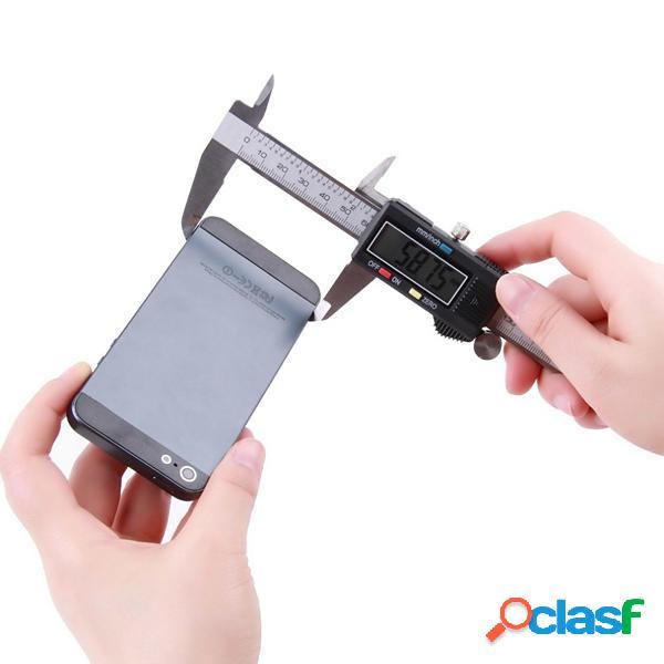 Lcd micrometro di calibro vernier digitale elettronico di