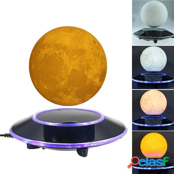 Levitazione magnetica 3D Moon Floating Touch Night Light