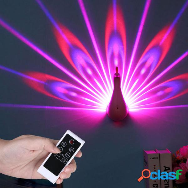 Luce notturna per telecomando proiettore 7 colori che