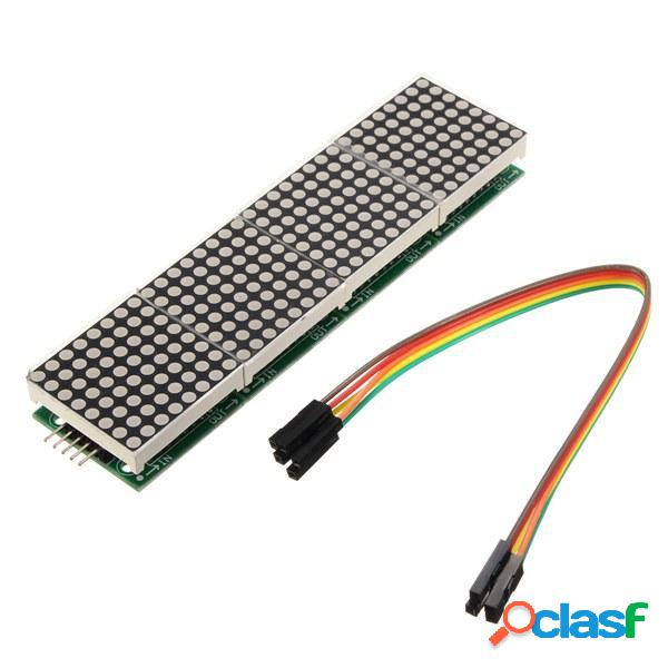 MAX7219 Modulo a Matrice di Punti 4-in-1 Display per Arduino