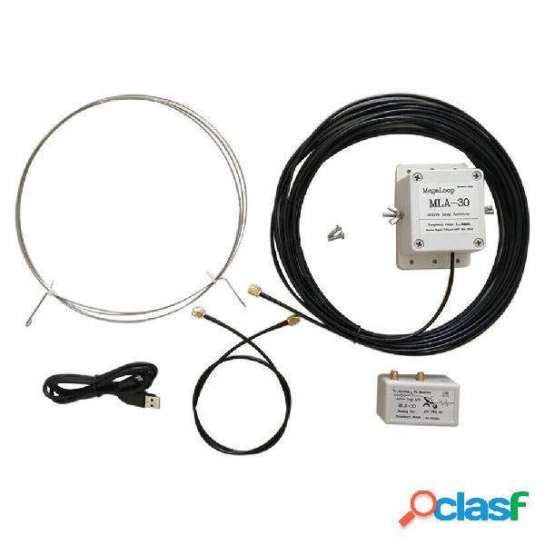 MLA-30 100kHz-30MHz Loop Antenna Active Ricezione Antenna A