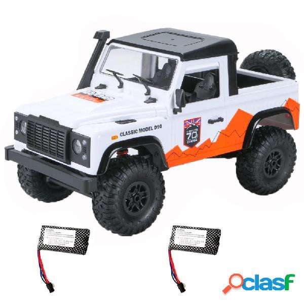 MN D90 1/12 2.4G 4WD RC Car Crawler Truck RTR Modelli di