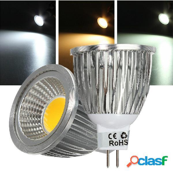 MR16 5W 500-550LM COB dimmerabile LED Spot lampada Lampadine