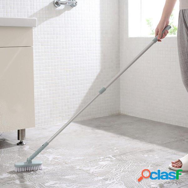 Maniglia lunga bagno retrattile Pennello Scrub per pavimento