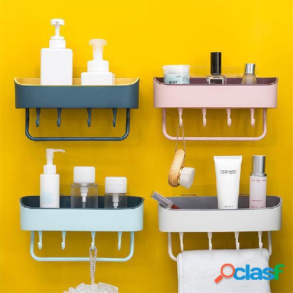Mensola bagno Organizzatore Vasca doccia Gel Porta shampoo