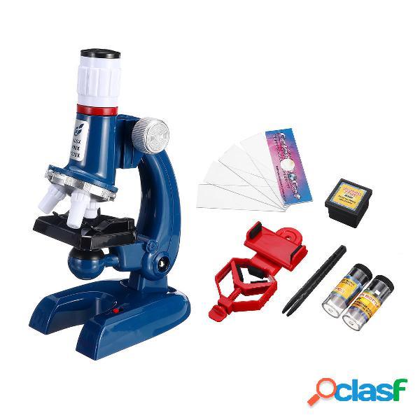 Microscopio biologico in plastica monoculare ingrandito con