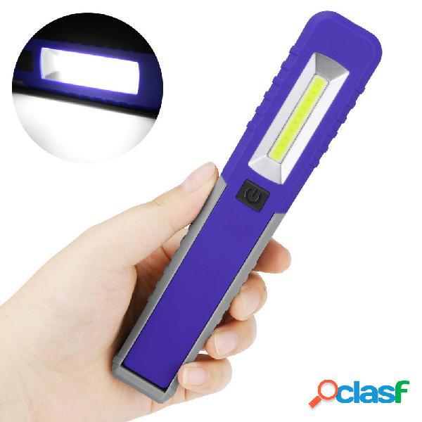 Mini portatile LED COB Inspection Work Light Batteria