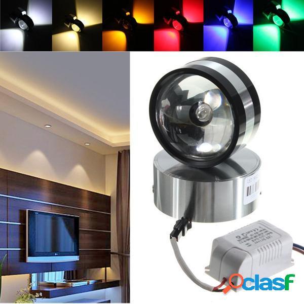 Moderno 2w alluminio LED lampada da parete a forma di palla