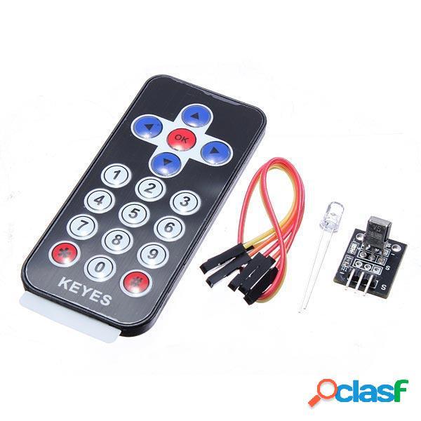 Modulo di Ricevitore Infrarosso IR Telecomando Kit per