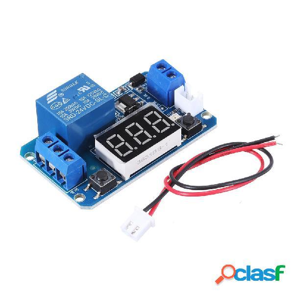 Modulo relè a ritardo di trigger 24 V con LED digitale