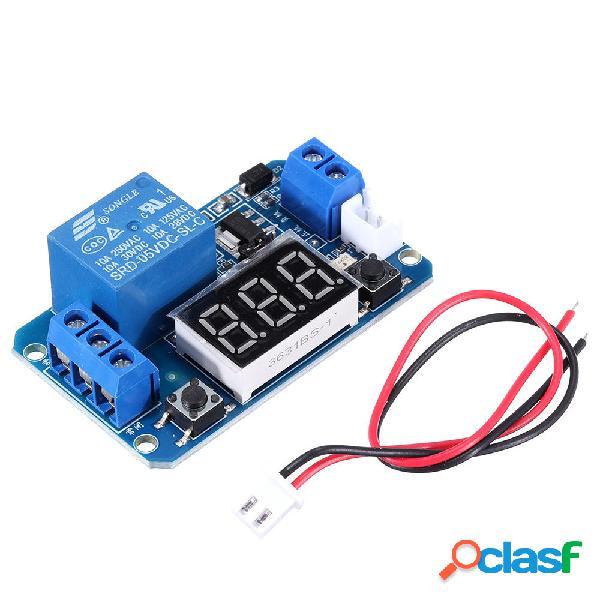 Modulo relè ritardo di trigger 5V con LED digitale Display