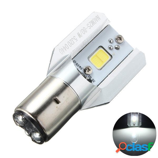 Moto LED faro CC 12-24V 12W h lampadina / l pannocchia BA20D