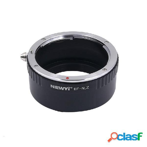 NEWYI EF-NZ lente Anello adattatore per Canon Eos Ef Mount