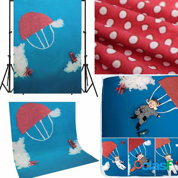 Nube bambini paracadute bambino fotografia sfondo puntelli