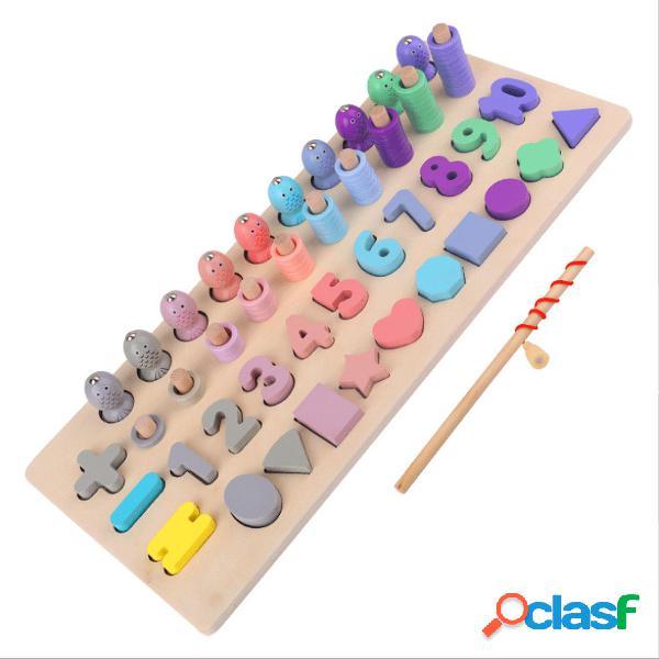 Numeri in legno per bambini Numeri in legno Puzzle per