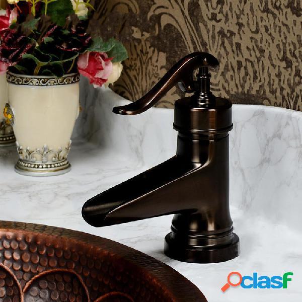 Olio Rubinetto per lavabo da bagno monocomando con rubinetto