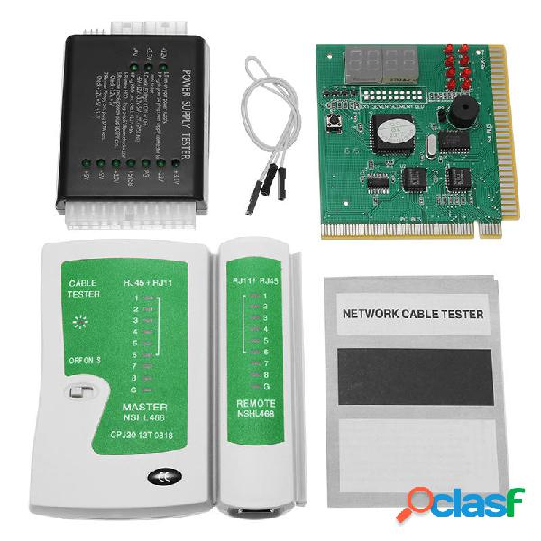 PC Network Test Kit Scheda madre POST Analyzer Tester di