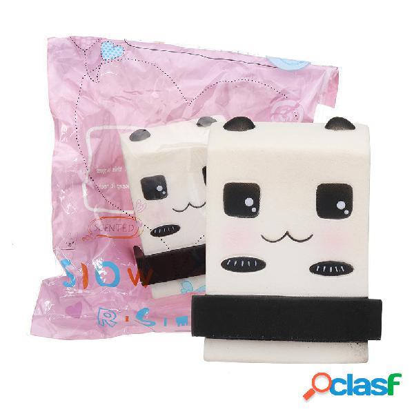 Panda Milkshake Squishy 10 * 9CM Slow Rising Soft Collezione