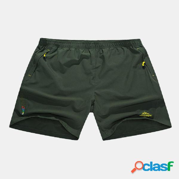 Pantaloncini Grande Taglia Asciugamento Rapido Sport Vita